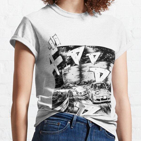 Initial D RX7 vs RX7 Classic T-Shirt