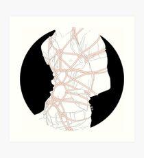 circle 10 Art Print