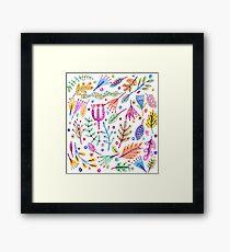 Eden's garden Framed Print