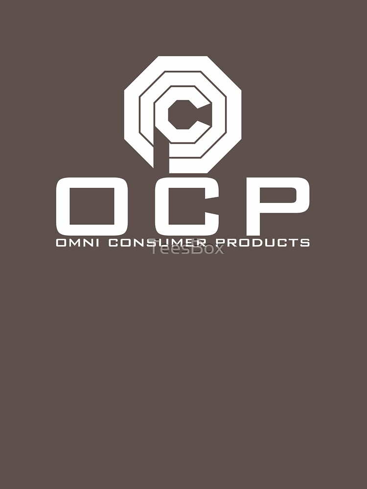 OCP - Omni Consumer Products by TeesBox