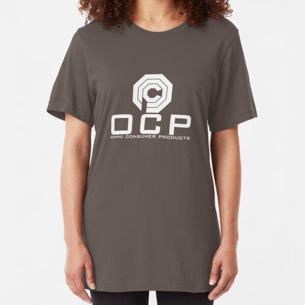 OCP - Omni Consumer Products Slim Fit T-Shirt