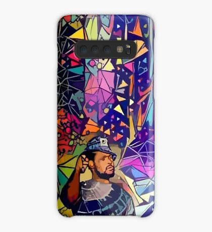 Abstract Schoolboy Q Case/Skin for Samsung Galaxy