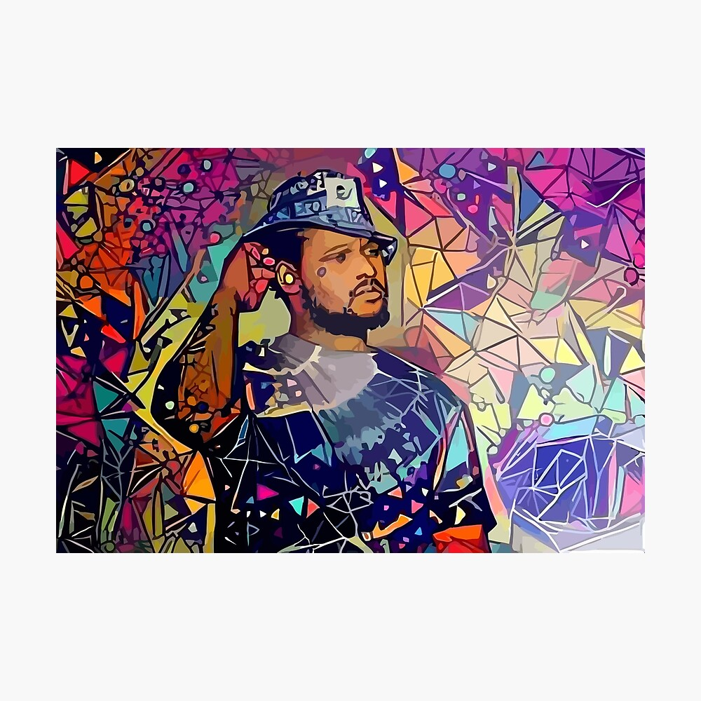 Abstract Schoolboy Q Photographic Print