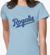 royals baseball Womens Fitted T-Shirt