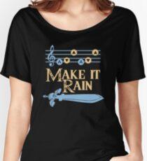 Make It Rain Zelda Inspired Design Women's Relaxed Fit T-Shirt