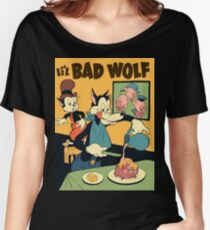 lil bad wolf Women's Relaxed Fit T-Shirt