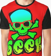 geek graffiti Graphic T-Shirt