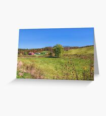 Autumn in the Farmlands Greeting Card