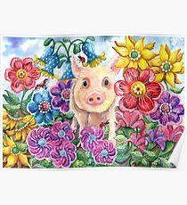 Penelope Pig Poster
