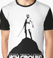 High Ground Prequel Memes Graphic T-Shirt