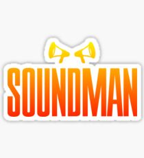 Colorful Soundman Sticker