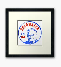 GOLDWATER (IN 64) Framed Print