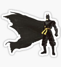 Batmanchin Sticker