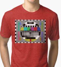 Common test PAL TV Tri-blend T-Shirt