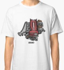 RB26DETT Skyline GT-R Motor Classic T-Shirt