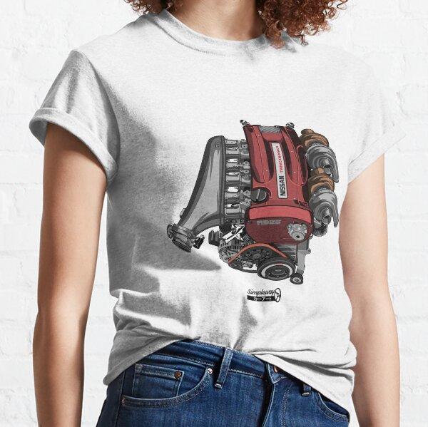 RB26DETT Skyline GT-R engine Classic T-Shirt