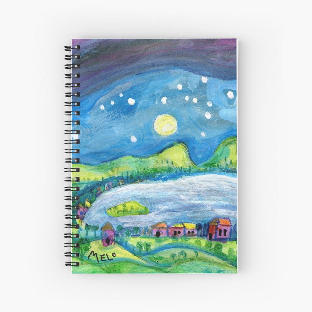 Norcal Magic (square) Spiral Notebook