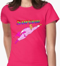 Super Gay - T-shirt Womens Fitted T-Shirt