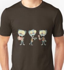 Fred The Zombie - Trio Unisex T-Shirt