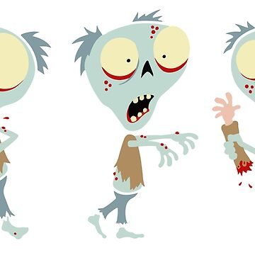 Fred The Zombie - Trio by calvininnes