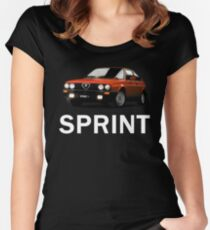 Alfa Romeo Sprint Women's Fitted Scoop T-Shirt