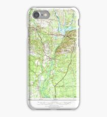 USGS TOPO Map Florida FL Tallahassee 348776 1954 250000 iPhone Case/Skin