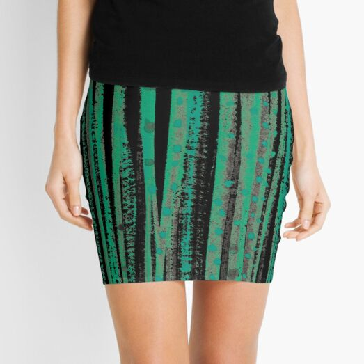 forest – green Mini Skirt