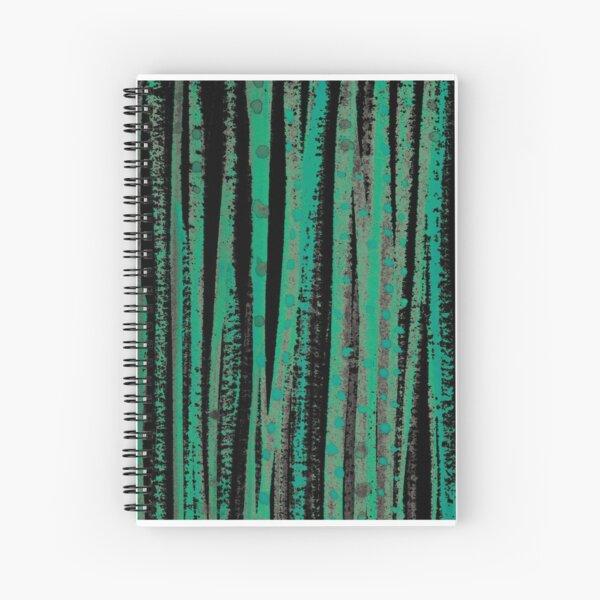 forest – green Spiral Notebook