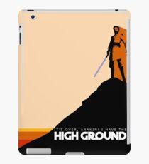 High Ground Prequel Memes - Colour iPad Case/Skin