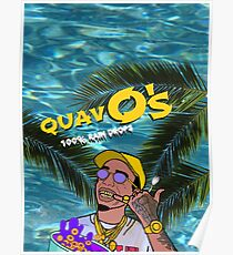 Quavo's Cereal Beach Blue Poster