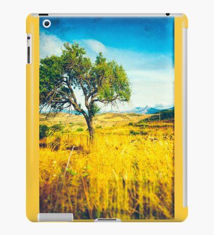 Sicilian Landscape With Tree iPad Case/Skin
