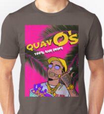Quavos Cereal (Flat Magenta) Unisex T-Shirt