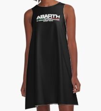 Abarth, a world of performance (white) A-Line Dress