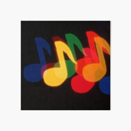 Music Moves Art Board Print