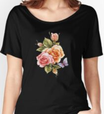 Flower-fly  Women's Relaxed Fit T-Shirt