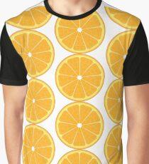 Orange slices pattern Graphic T-Shirt