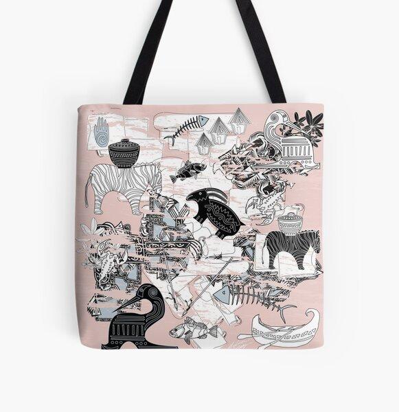 Primitive Design Pattern All Over Print Tote Bag