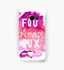 Fou Amour Eux - Crazy in Love Samsung Galaxy Case/Skin