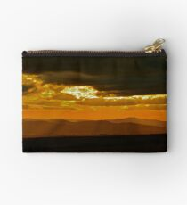 Zululand Landscape Sunset with Electricity Lines Studio Pouch