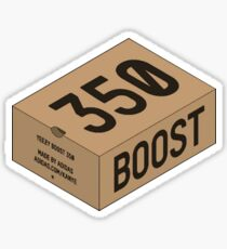 Yeezy 350 Box Sticker