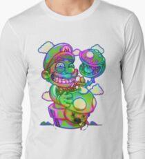 Trippy Mario Long Sleeve T-Shirt
