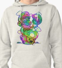 Trippy Mario Pullover Hoodie