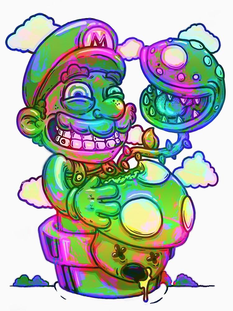 Trippy Mario | Unisex T-Shirt
