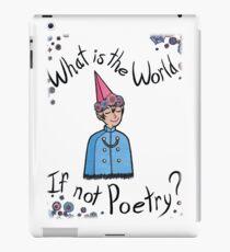 Poetry? iPad Case/Skin