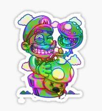 Trippy Mario Sticker