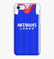 glasgow rangers iPhone Case/Skin