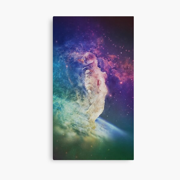 Psychedelic Astronaut Canvas Print