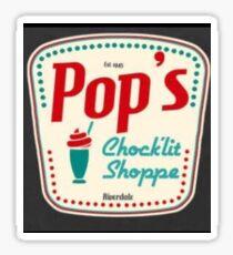 Riverdale pop's Sticker