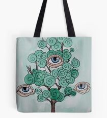 Drittes Auge Tote Bag