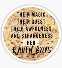 Her Raven Boys Sticker